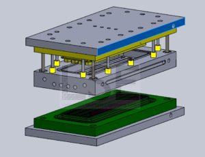 CAD-Modell eines Werkzeugs