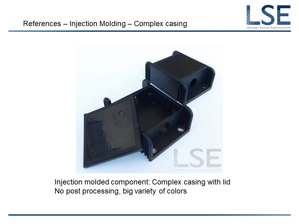 Injection Molding – LSE-Lightweight Structures Engineering GmbH