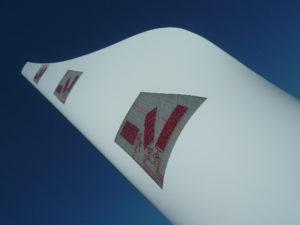 Integriertes Überwachungssystem für Rotorblätter in Windkraftanlagen