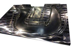 RTM-Werkzeug zur Herstellung von Faserkunststoffverbundbauteilen