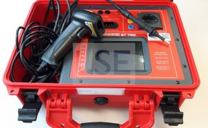 Test of mobile electrical equipment